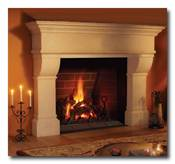 Nice Masonry Fireplace